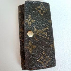 Vintage Louis Vuitton Key Wallet
